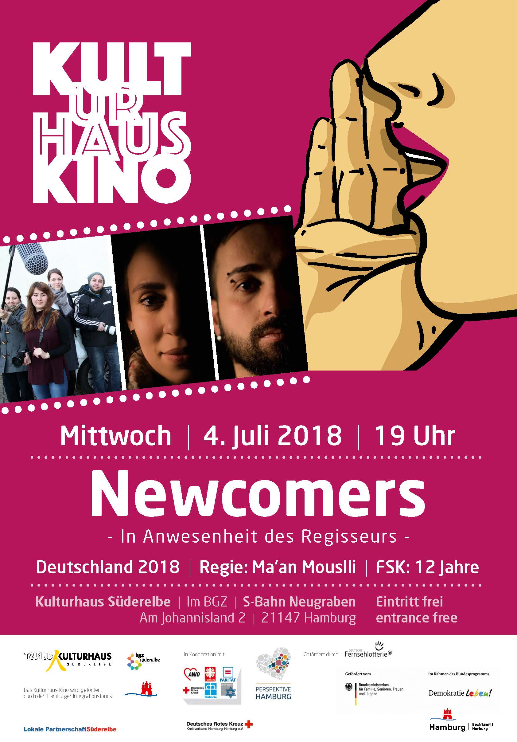 Newcomers web 50316 Kulturhaus Kino zeigt: Newcomers