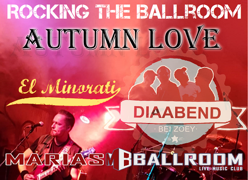 Autum Love Header 2020 500 73740 Autumn Love / El Minorati / Diaabend bei Zoey   Rockin´ the Ballroom