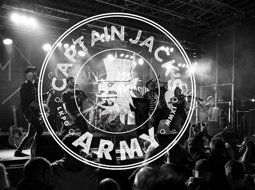 Captain Jacks Armay 2020 Pic1 By Martin Wilson Header 500 74265 Captain Jacks Army   Celtic Punk Rock (SWE) & Guests